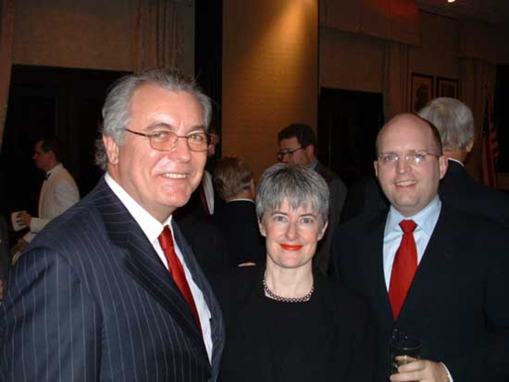 Mr. John Lauer and Mr. and Mrs. Philip Reeker