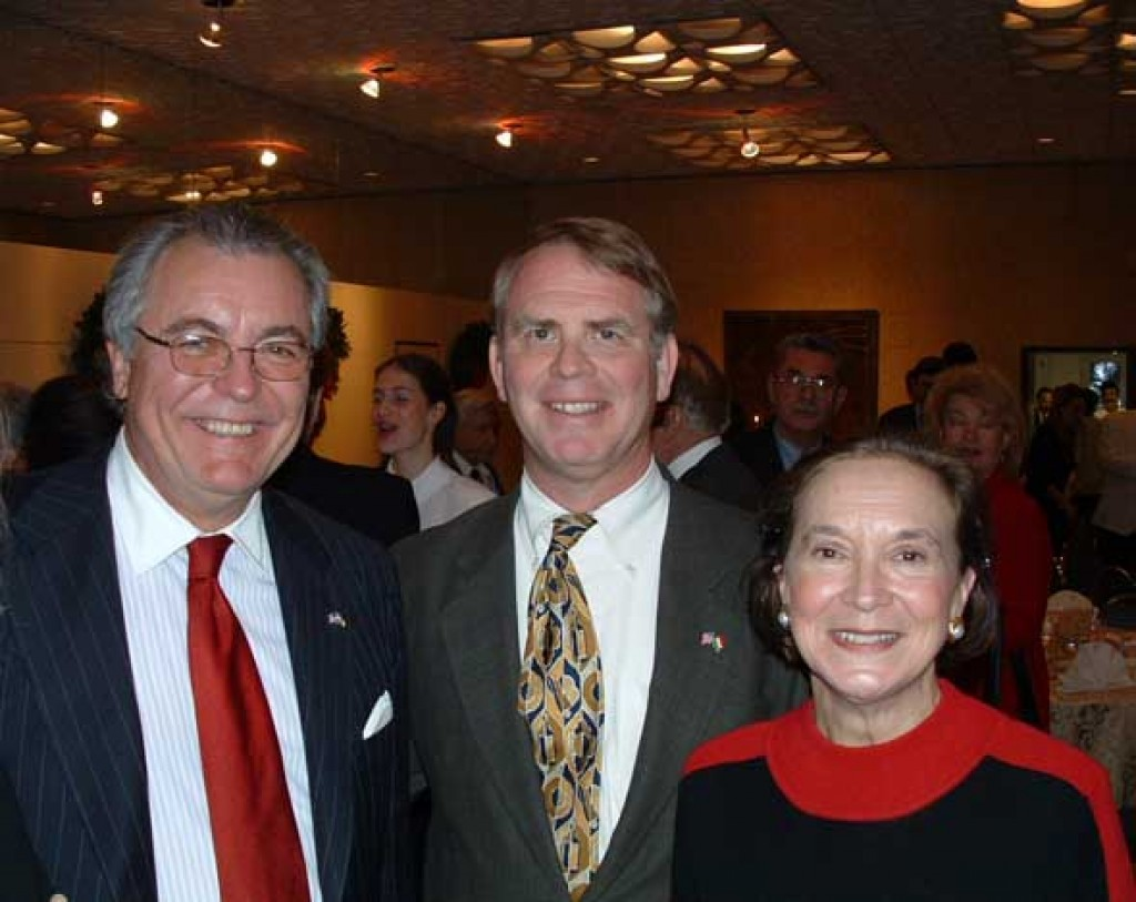 Mr. John Lauer and Mr. and Mrs. Tom Robertson