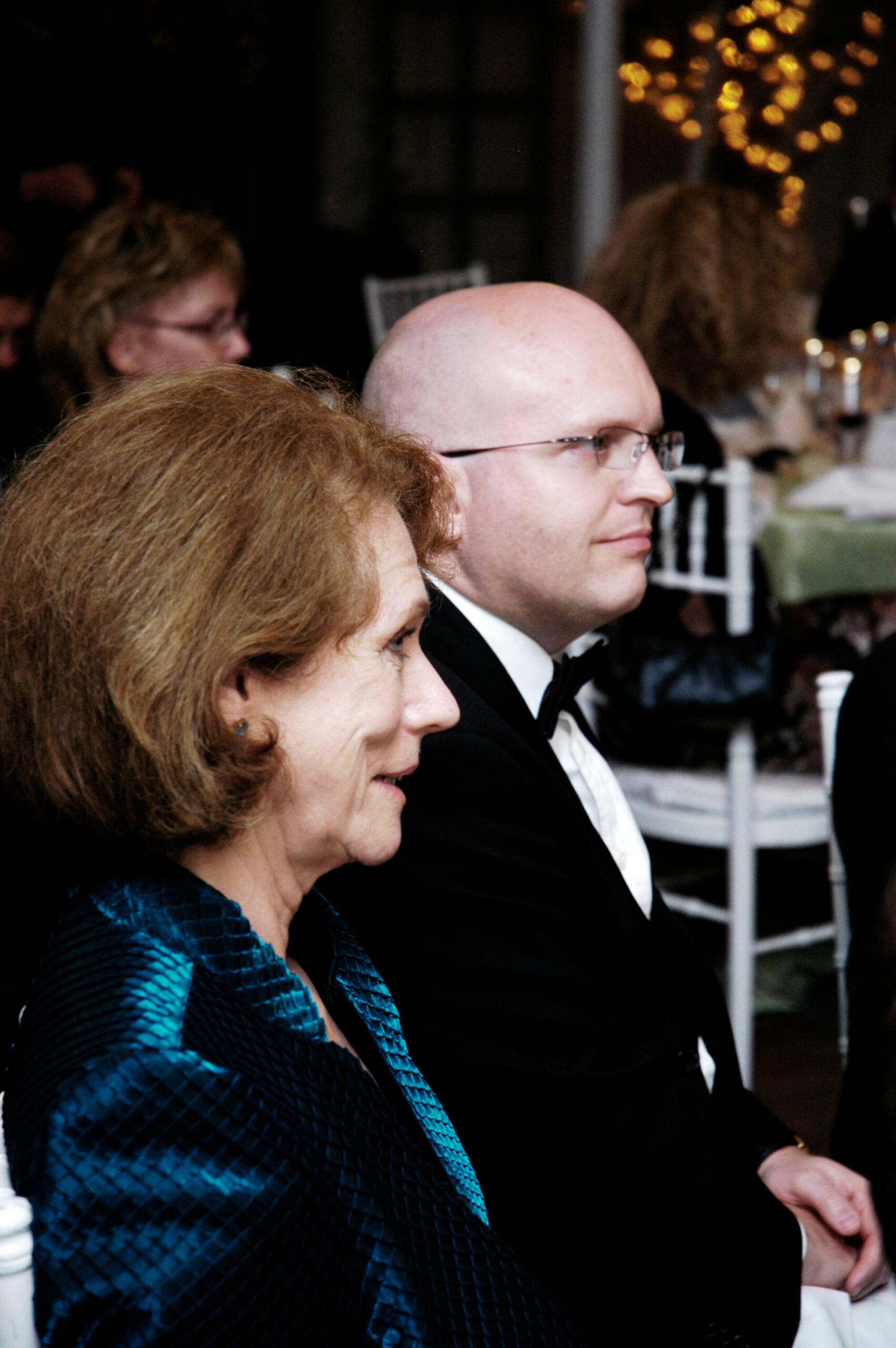 Mrs. Anne C. Bader, Mr. Philip Reeker