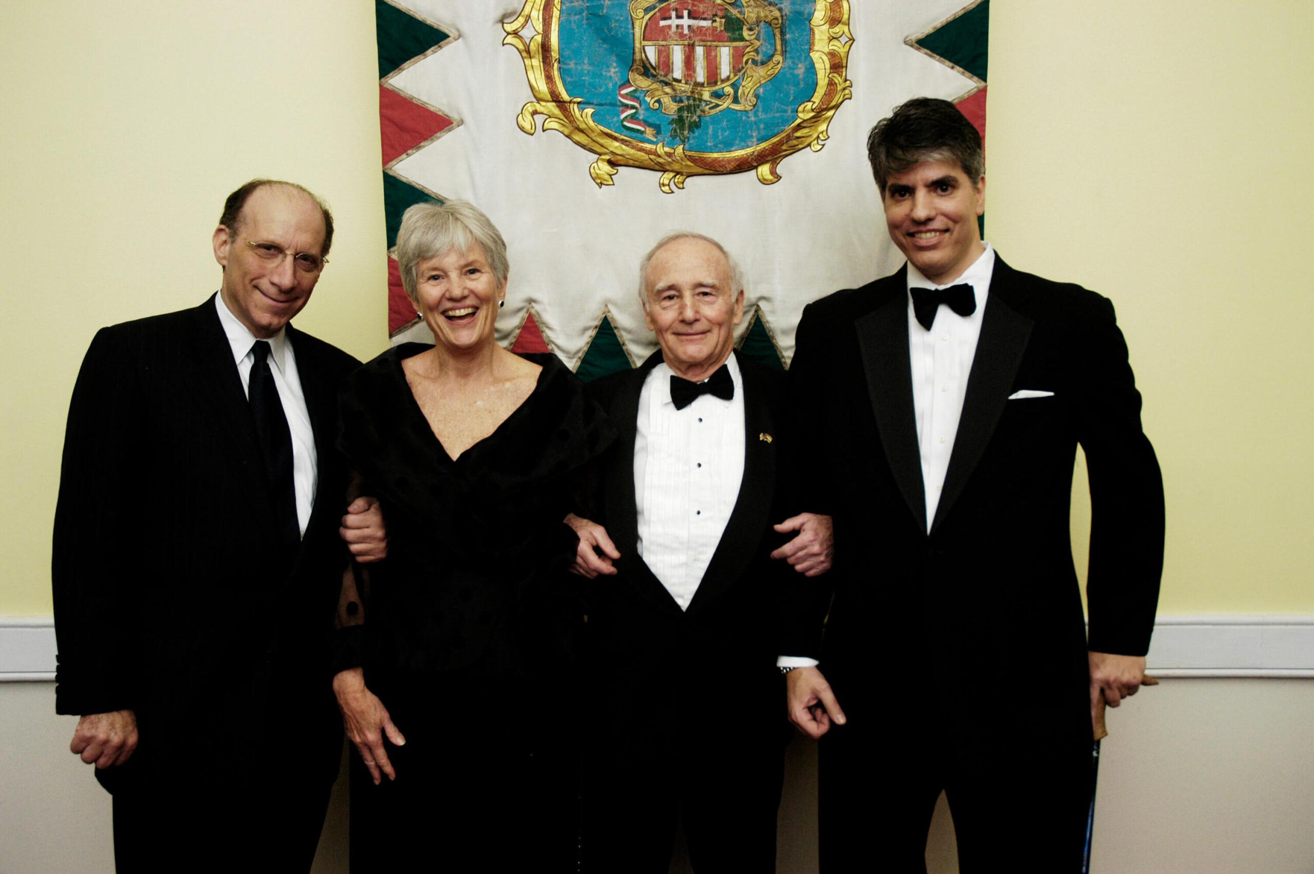 Mr. Philip A. Aronoff, Mrs. Carol Walker, Amb. George Herbert Walker, Mr. Maximilian Teleki