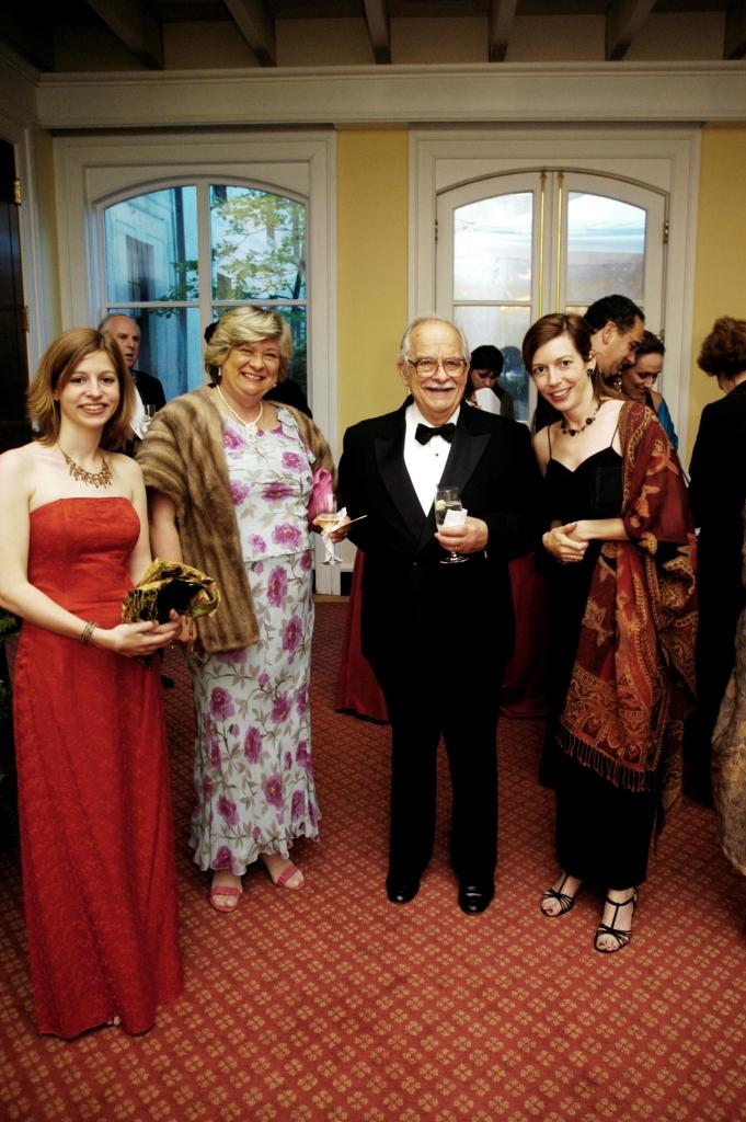 Ms. Maria Farkas, Mrs. Katalin Teleki, Mr. Karoly Teleki, Dr. Evelyn N. Farkas