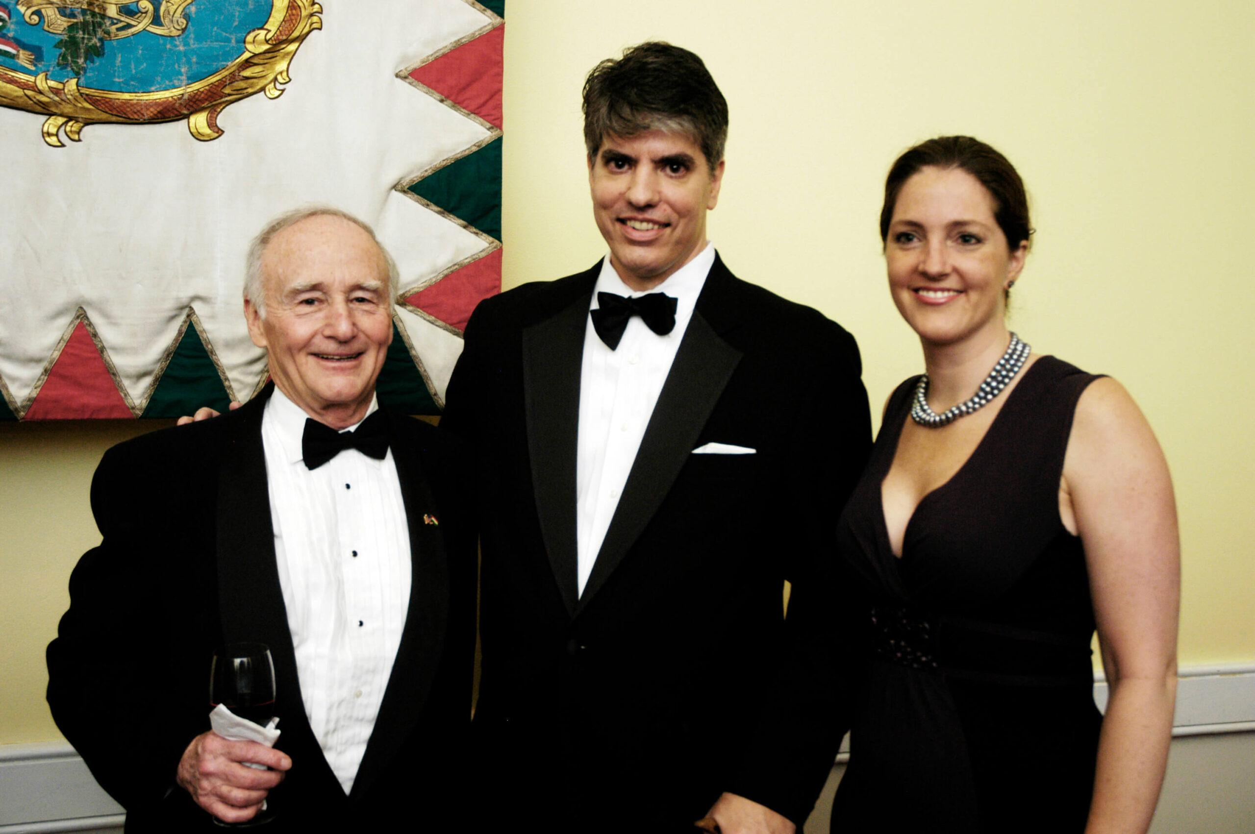 Amb. George Herbert Walker, Mr. Maximilian Teleki, Mrs. Wendy Telek
