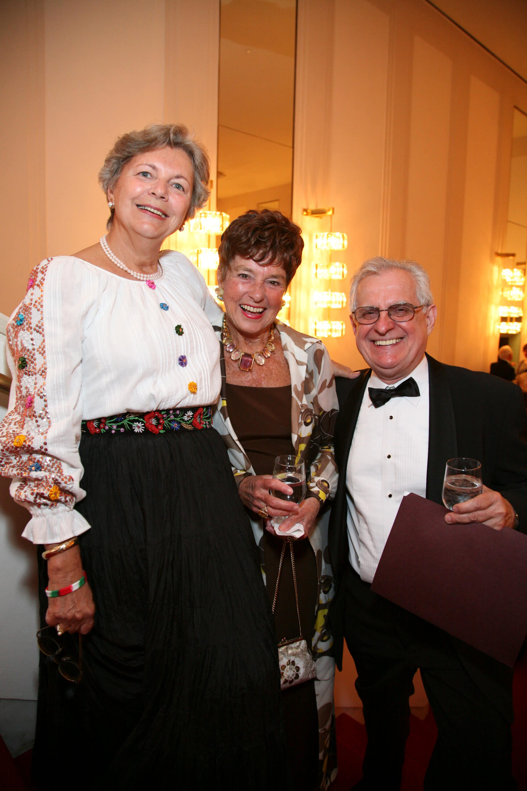 Mrs. Edith Lauer, Dr. Jeanette Grasselli Brown, and Mr. Zsolt Szekeres