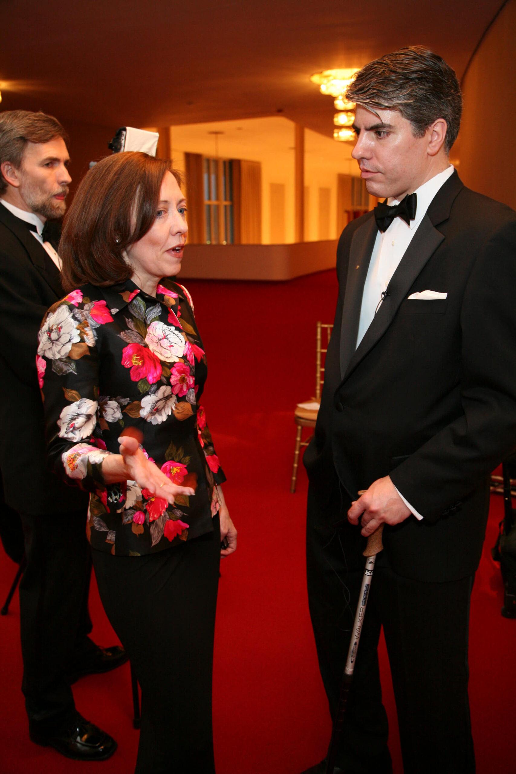 Senator Maria Cantwell, and Mr. Maximilian Teleki