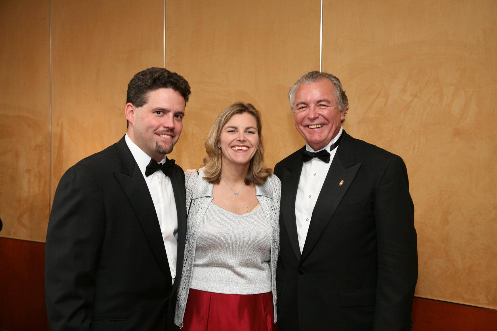 Mr. Barton Rice Jr., Mrs. Andrea Lauer Rice, Mr. John N. Lauer