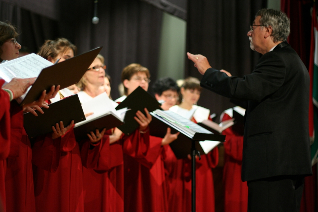 Performance by members of the Chorus of the Liszt Academy of Music