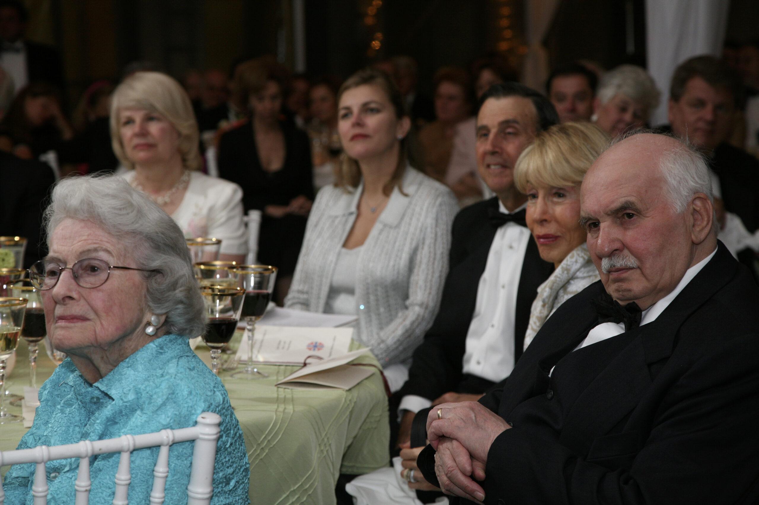 Mrs. Linda Horvath, Mrs. Andrea Lauer Rice, Mr. George Walker Resor, Mrs. Ina Ginsburg, Mr. Janos Horvath, Mrs. Louise Walker Resor