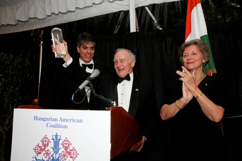Mr. Maximilian Teleki, Amb. George Herbert Walker, Mrs. Edith K. Lauer