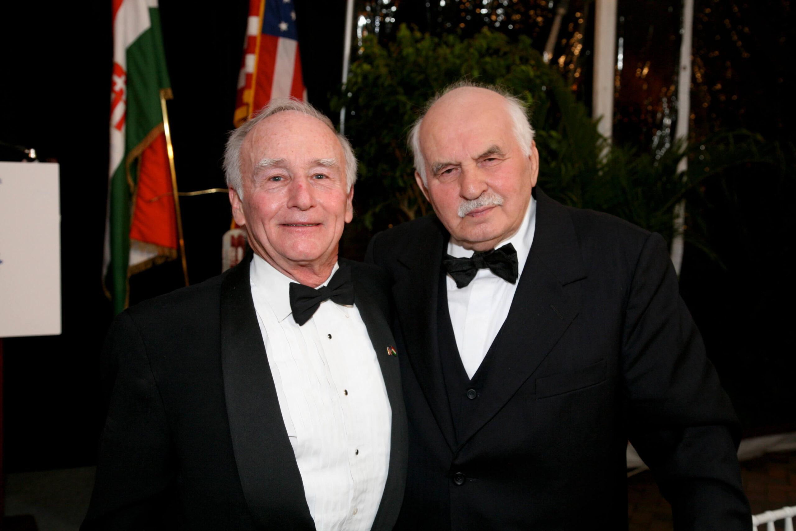 Amb. George Herbert Walker and H.E. Mr. Janos Horvath