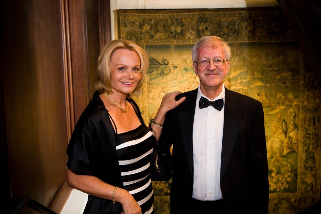Mrs. Helga Schwartz and Mr. Jean-Pierre Schwartz