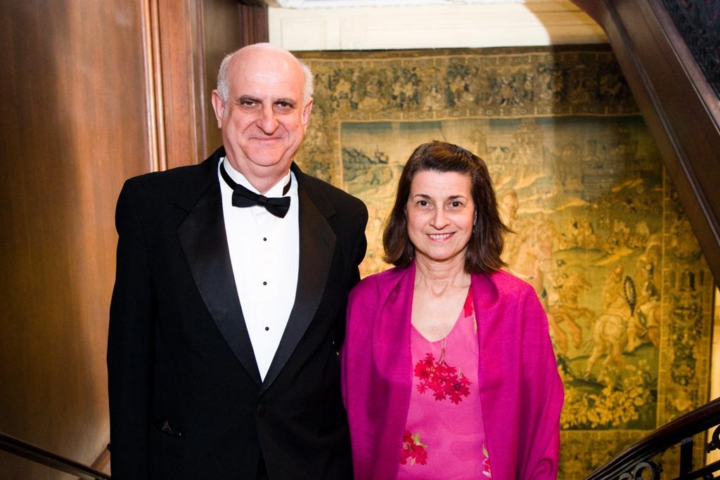Mr. János Szekeres and Mrs. Judit Szekeres