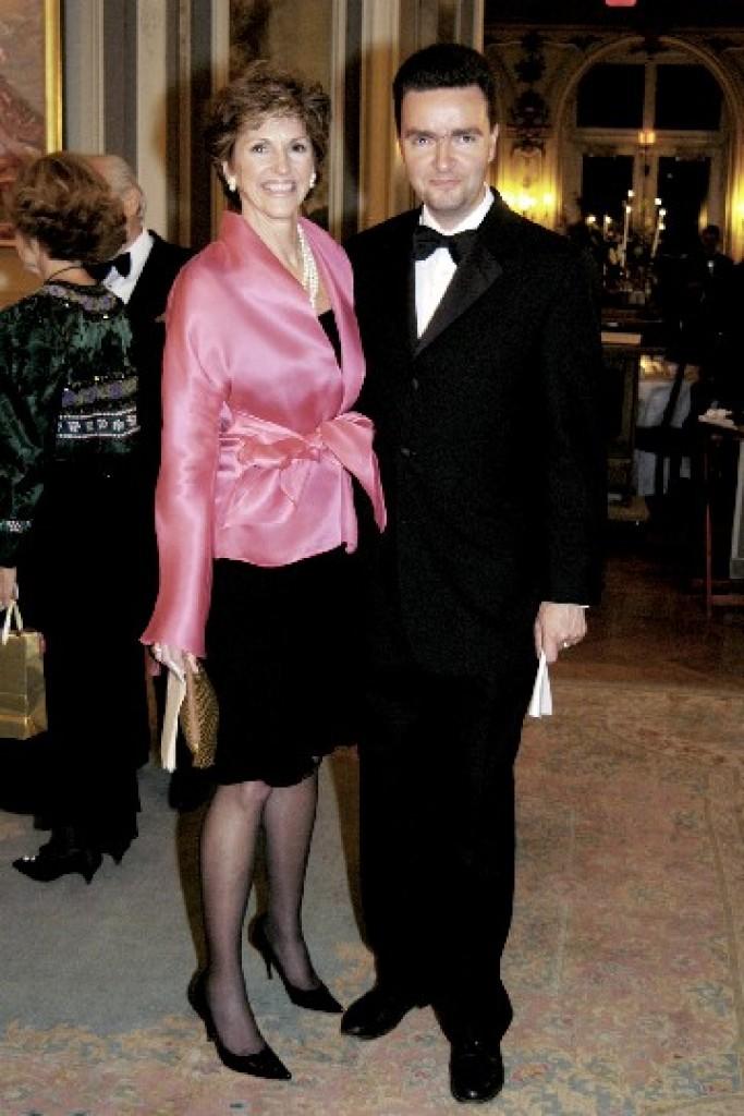 Ms. Susan Hutchison, Ambassador Georg von Habsburg