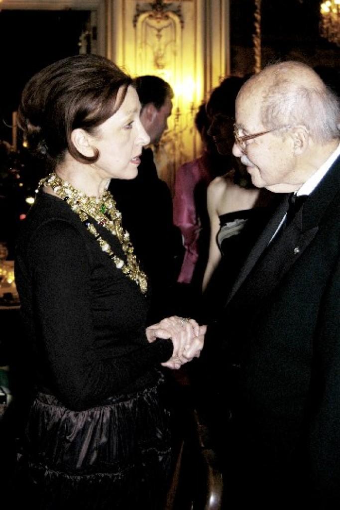 Mrs. Aniko Gaal Schott, Dr. Ottó von Habsburg