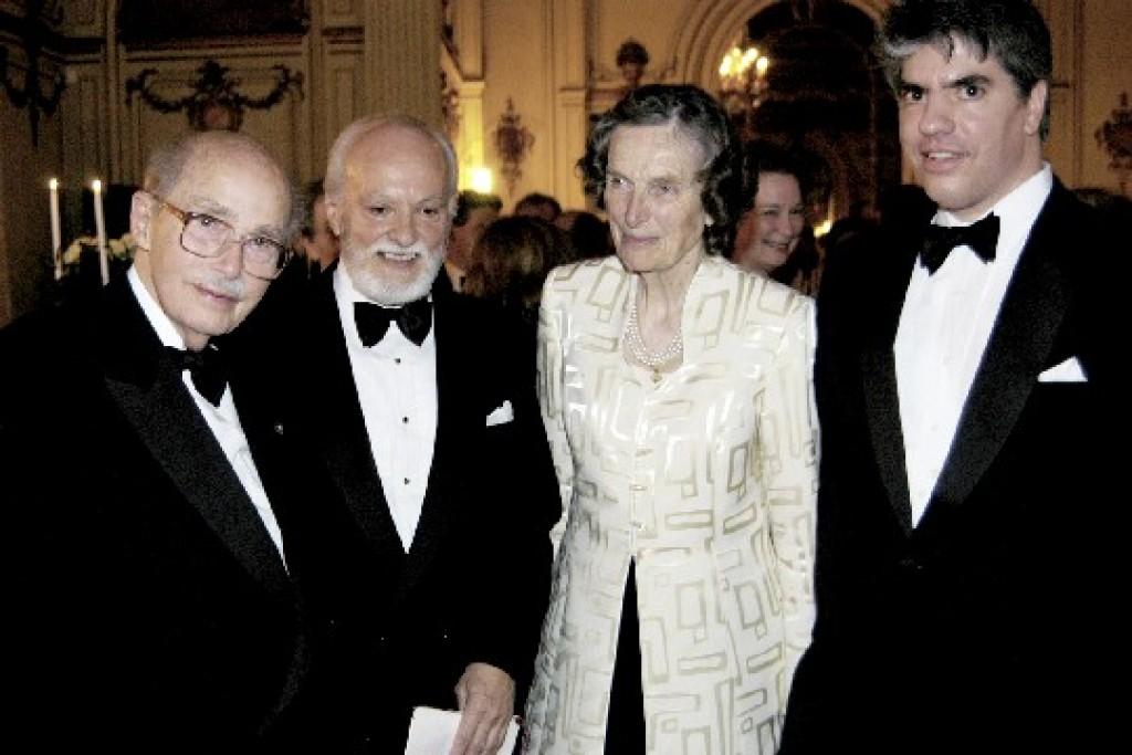 Dr. Otto von Habsburg, Mr. István Teleki, Archduchess Regina von Habsburg, Mr. Maximilan Teleki