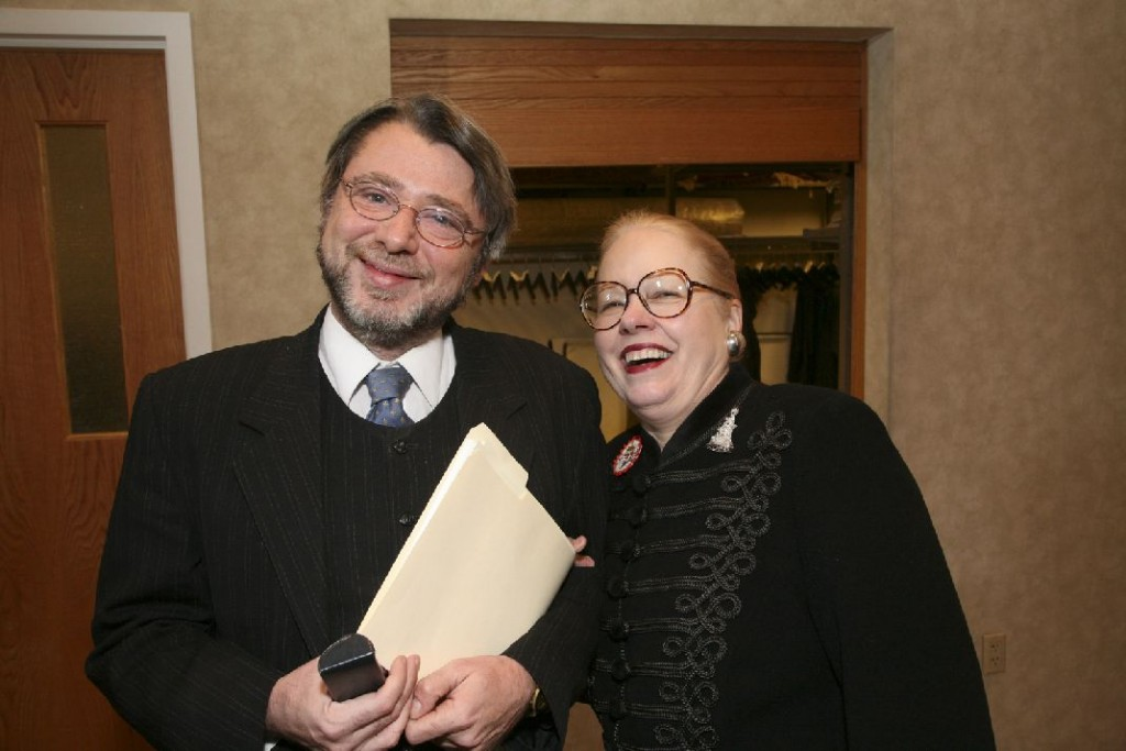 Mr. Sandor Bognar, Mrs. Leslie L. Megyeri