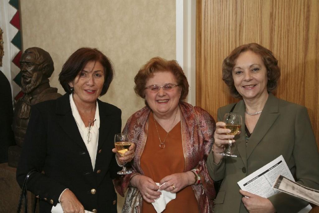 Ms. Ilona Lang, Mrs. Helen Szablya, Mrs. Tibor Purger