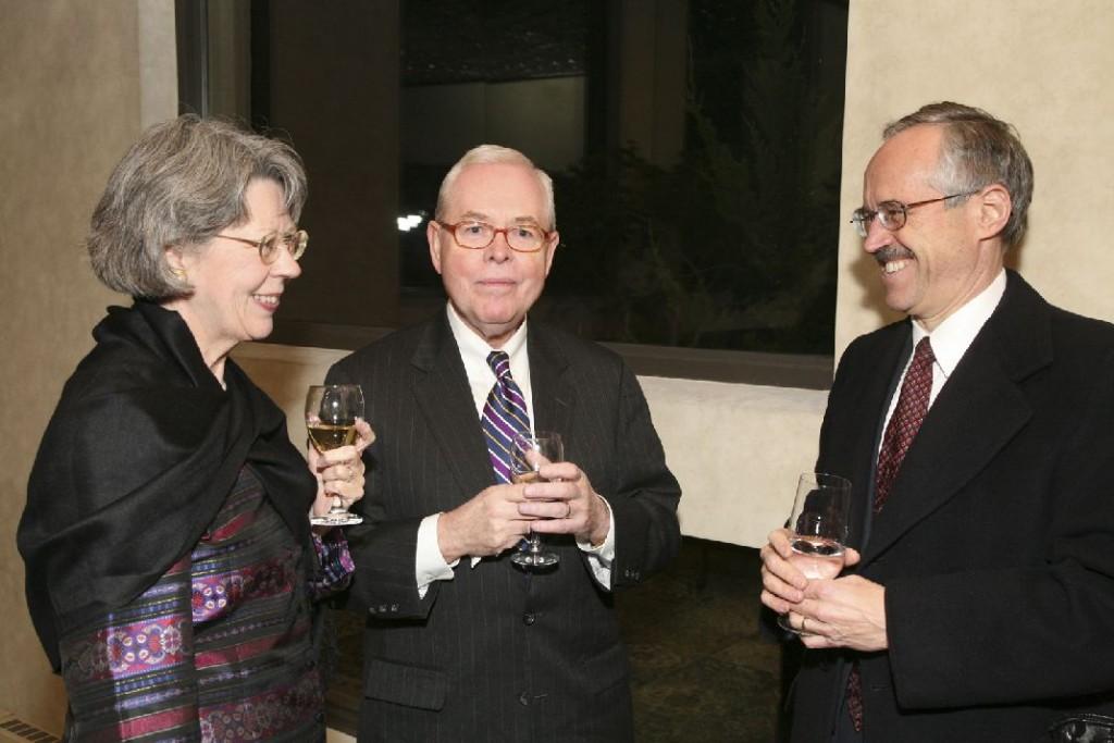Mrs. Theda Bagdy, Mr. Zoltan Bagdy, Mr. Akos Nagy