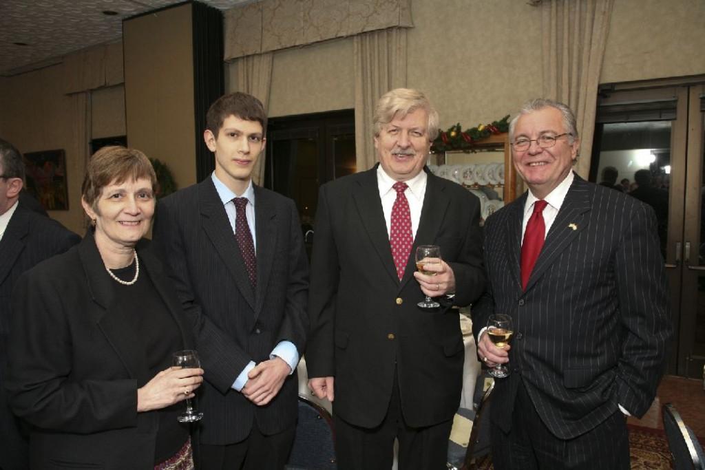 Mrs. Barbara Soltesz, Mr. Erik Soltesz, Mr. Peter Soltesz, Mr. John Lauer