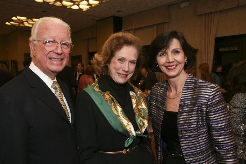 Mr. Joseph Bader, Mrs. Anne Bader, Mrs. Nada Simonyi