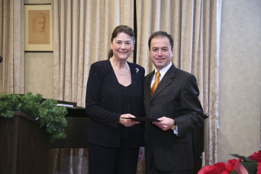 Mrs. Agnes Fulop, Ambassador András Simonyi