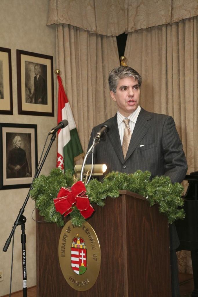 Mr. Maximilian Teleki, Coalition President